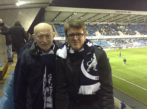 Alexander Adamescu invited to watch Millwall v Walsall at New Den