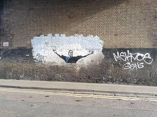 Millwall grafitti